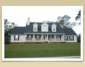 Home Builders In South Alabama Feature Redwood Gold House Photo  - Bass Homes, Inc.