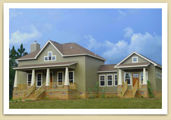 Home Builders Mobile, AL Harrelton House Image - Bass Homes, Inc.