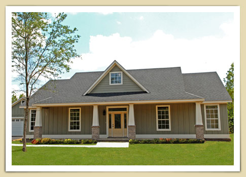 Home Builders Baldwin County, AL Main Dalton House Image - Bass Homes, Inc.